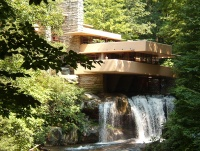 "Frank Lloyd Wright's ""Falling Water""."